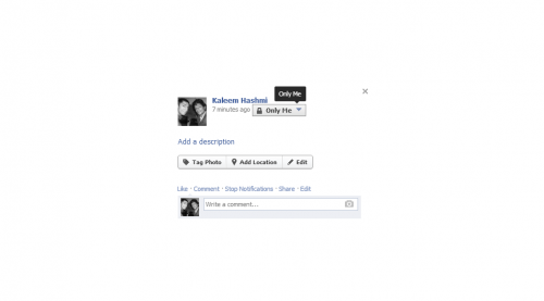 How to Hide Photo on Facebook